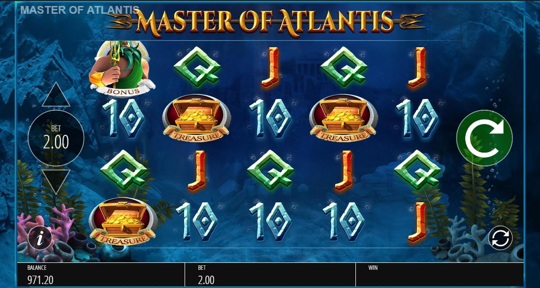 Бесплатный слот Master of Atlantis