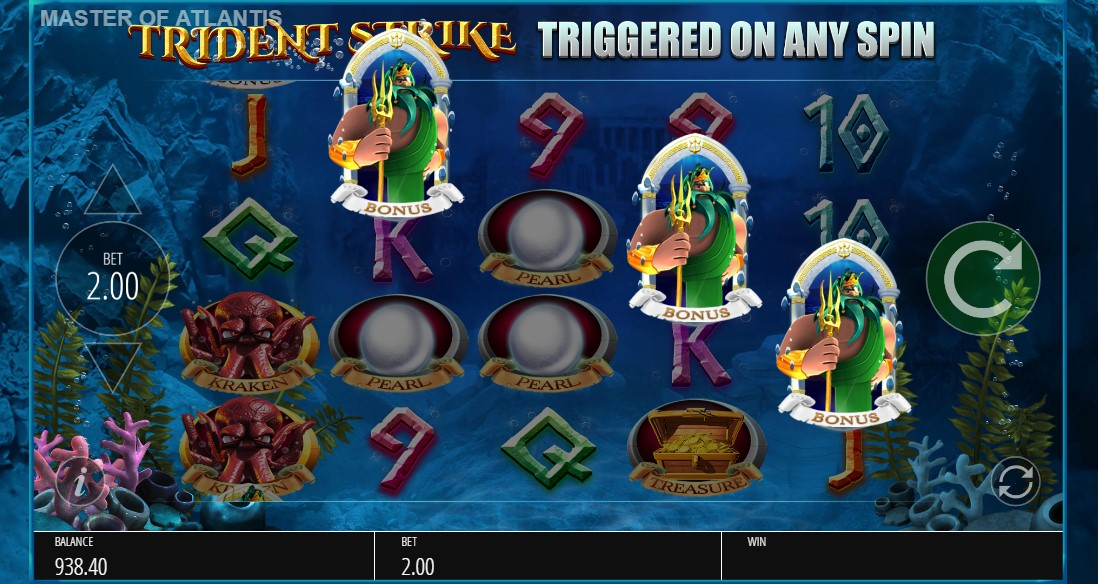 Master of Atlantis слот играть