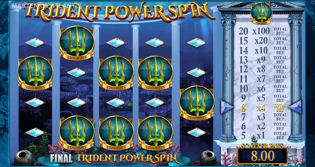 Master of Atlantis бесплатный слот