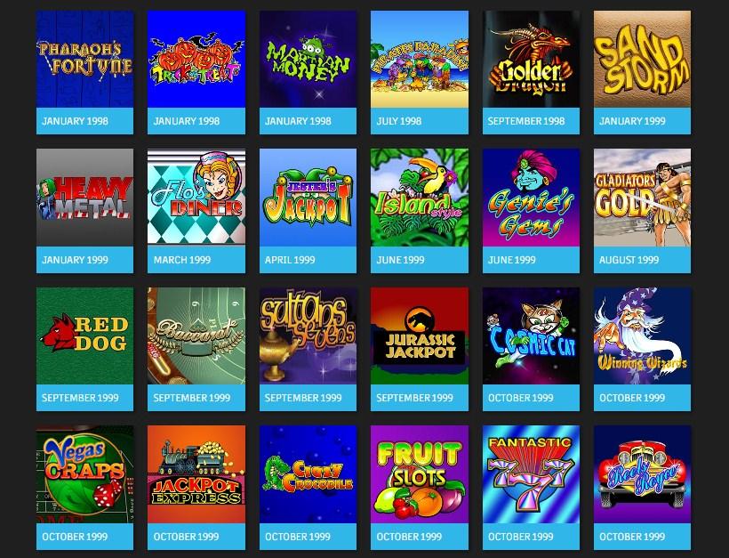старые онлайн казино самые