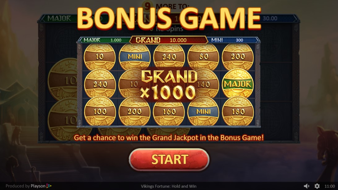 Play Vikings Fortune: Hold and Win онлайн слот