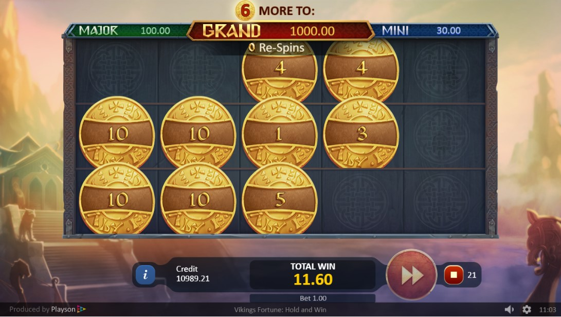 Play Vikings Fortune: Hold and Win играть онлайн