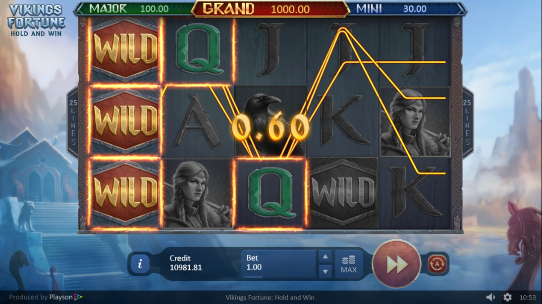 Бесплатный слот Play Vikings Fortune: Hold and Win