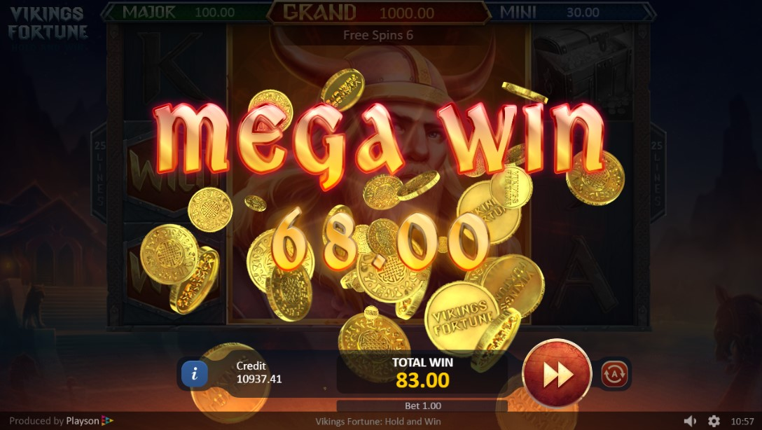 Слот Play Vikings Fortune: Hold and Win играть