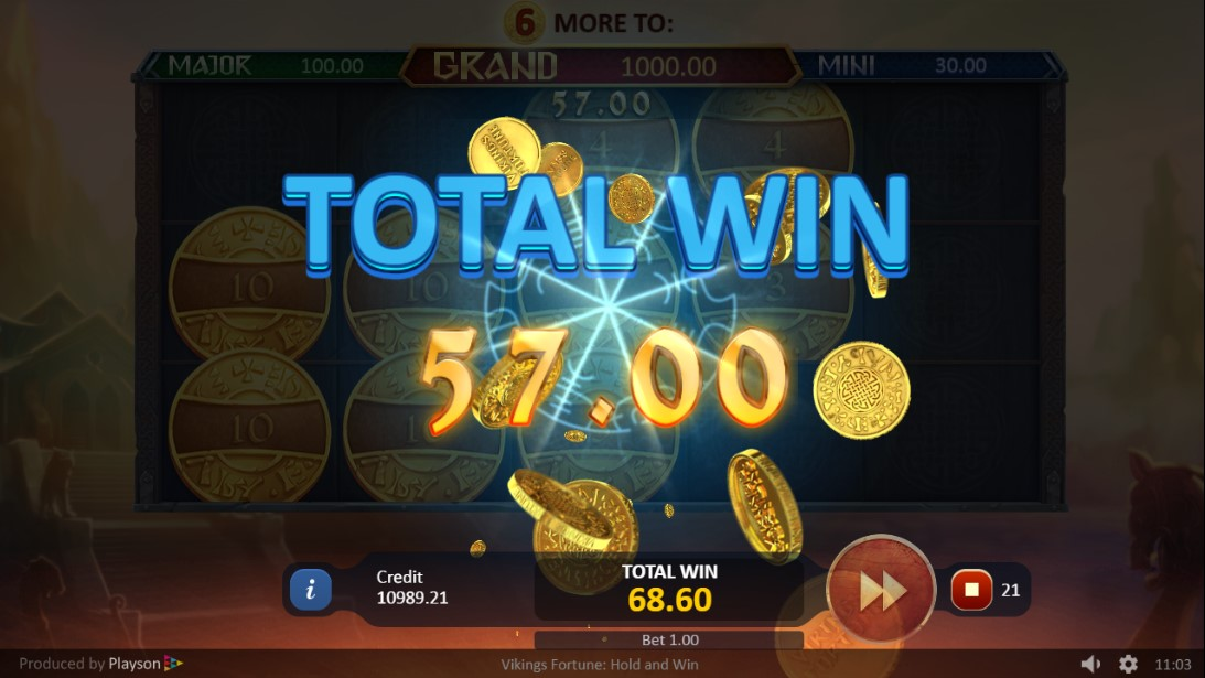 Play Vikings Fortune: Hold and Win игровой автомат