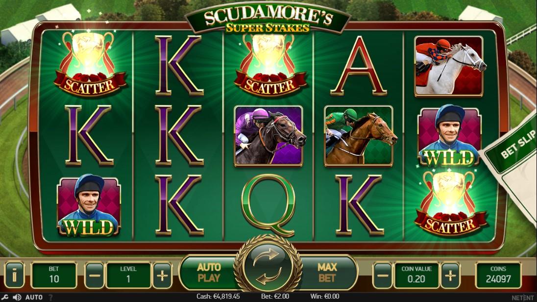 Scudamore's Super Stakes играть без регистрации