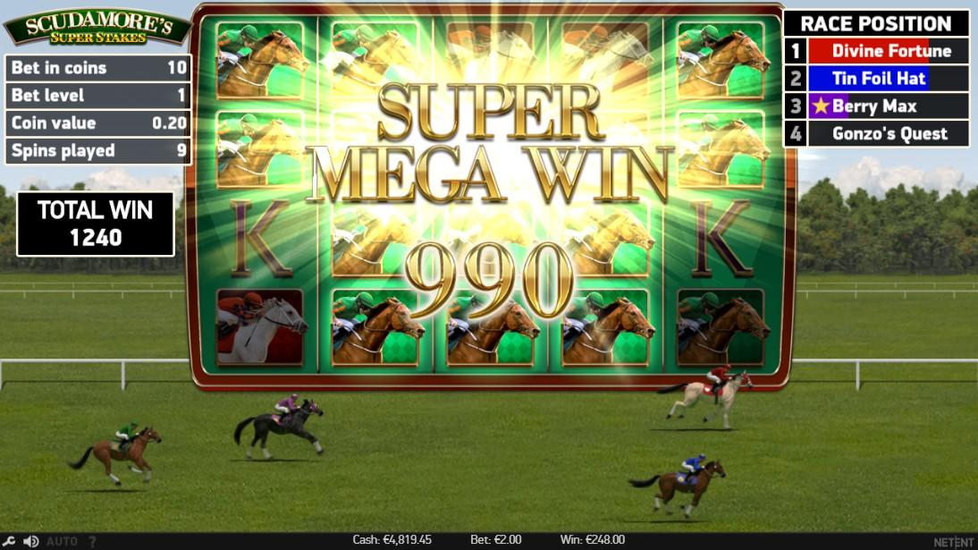 Слот Scudamore's Super Stakes играть онлайн