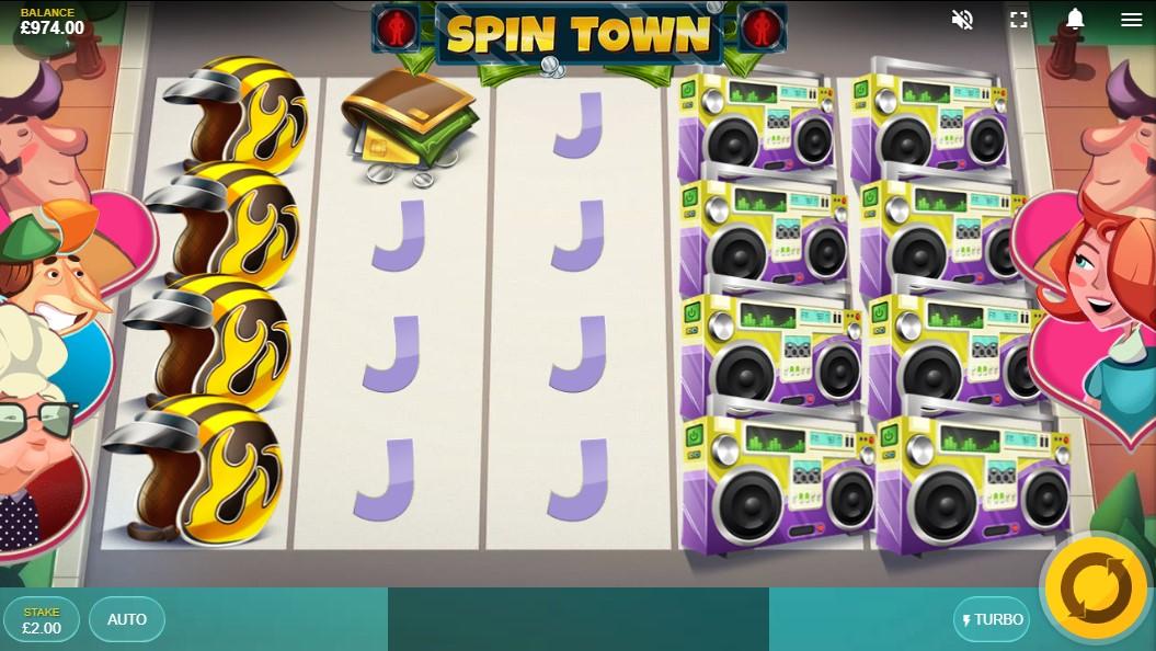 Бесплатный слот Spin Town