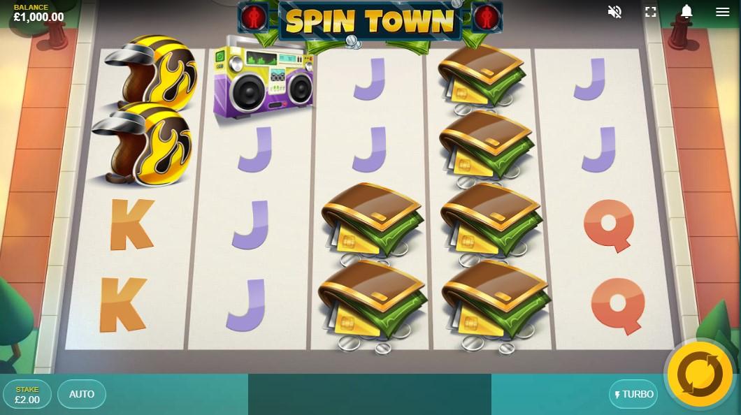 Spin Town слот играть