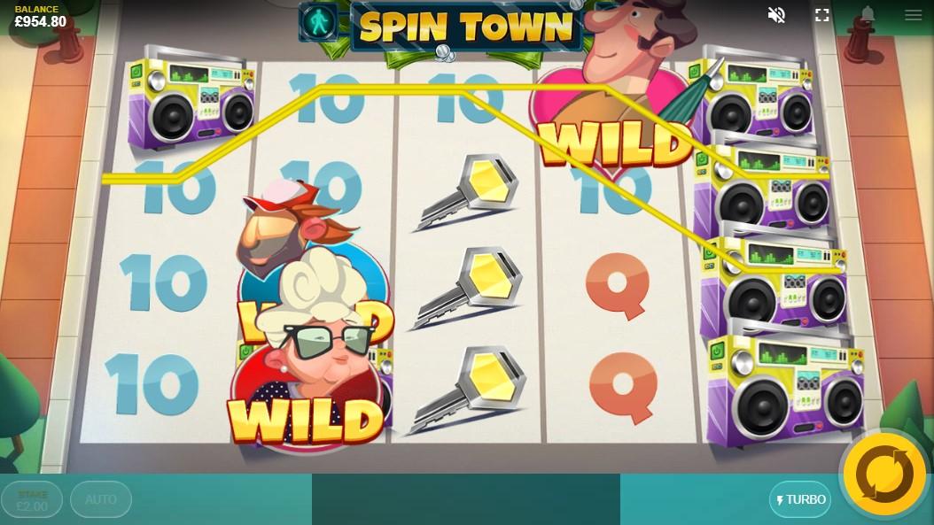 Играть онлайн Spin Town