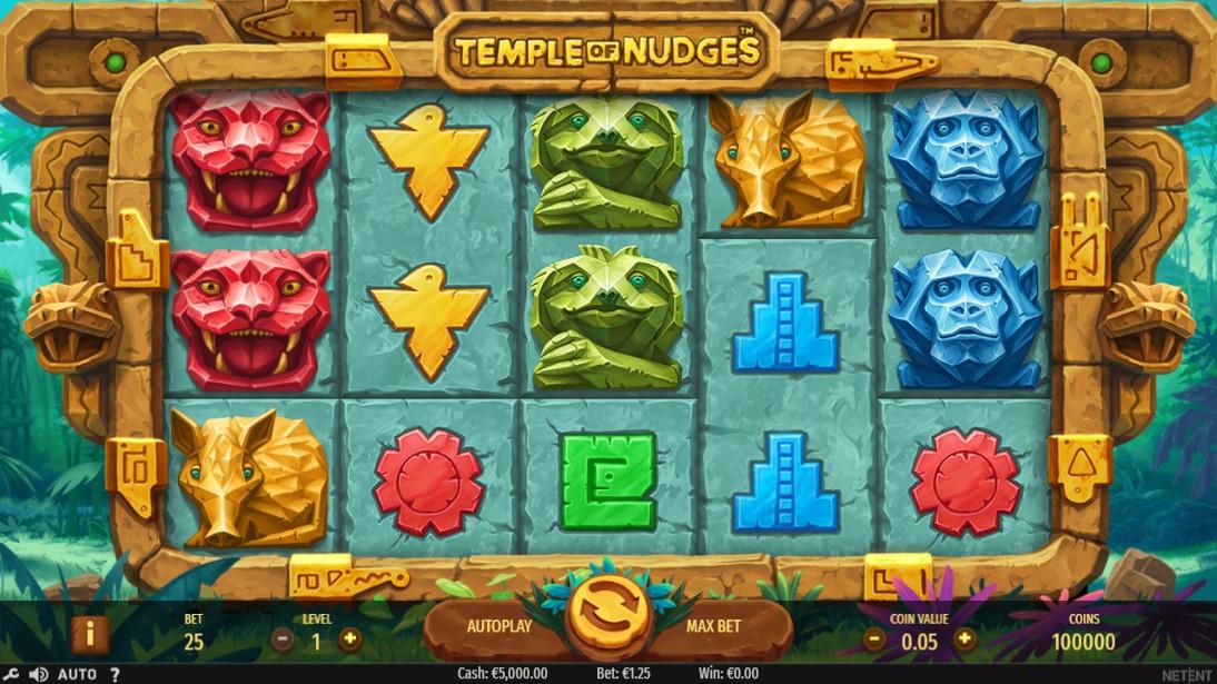 Temple of Nudges играть бесплатно