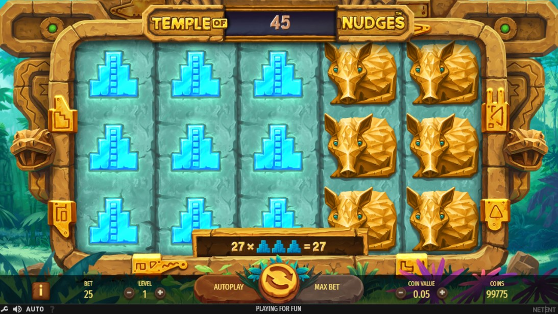 Бесплатный слот Temple of Nudges