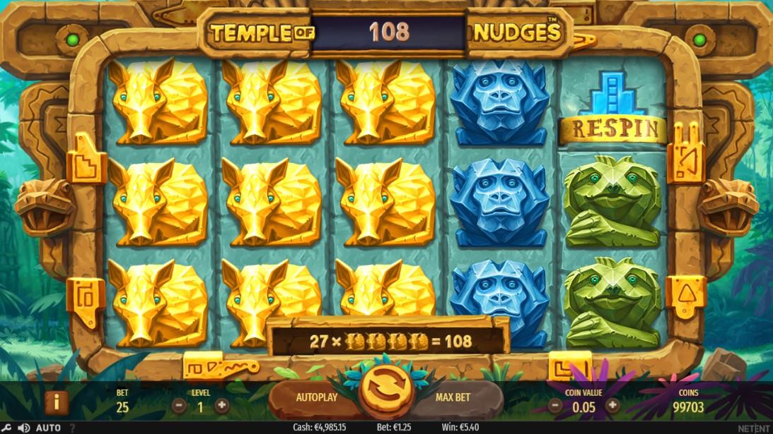 Играть онлайн Temple of Nudges