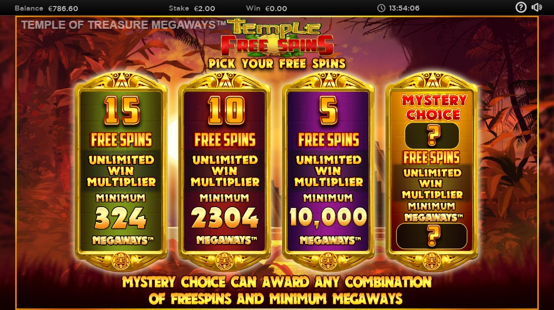 Temple of Treasures MegaWays играть онлайн