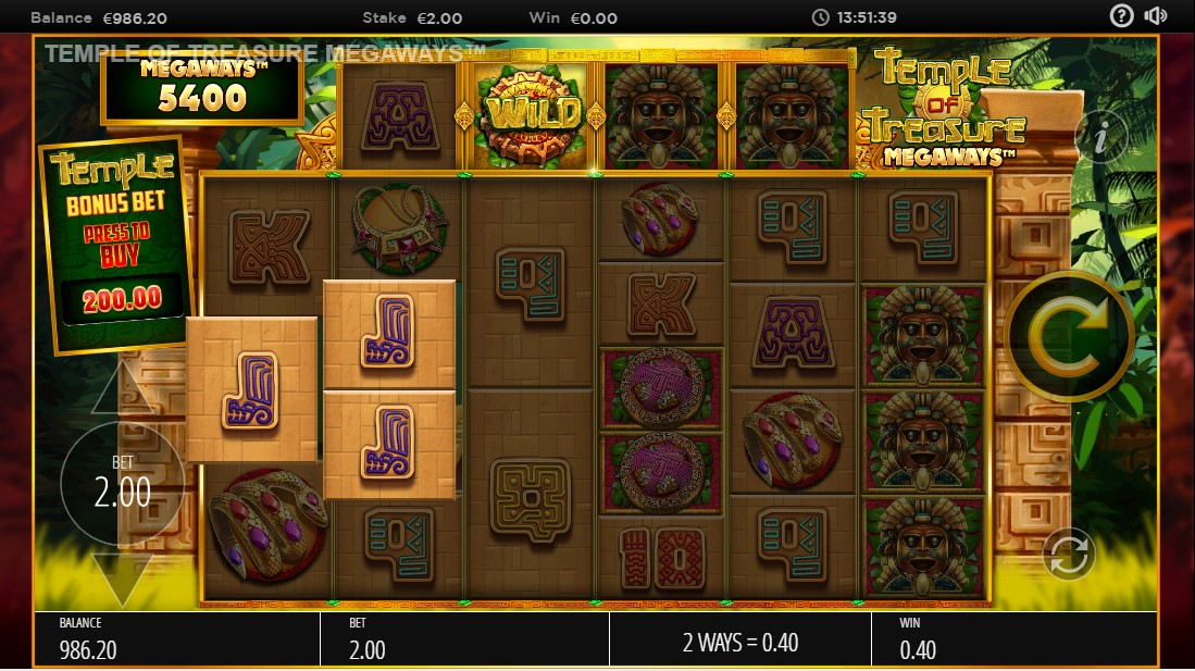 Temple of Treasures MegaWays играть