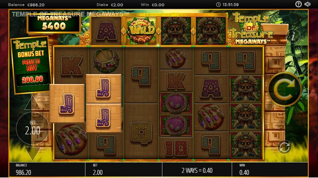 Temple of Treasures MegaWays играть