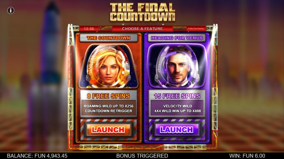 Играть бесплатно The Final Countdown