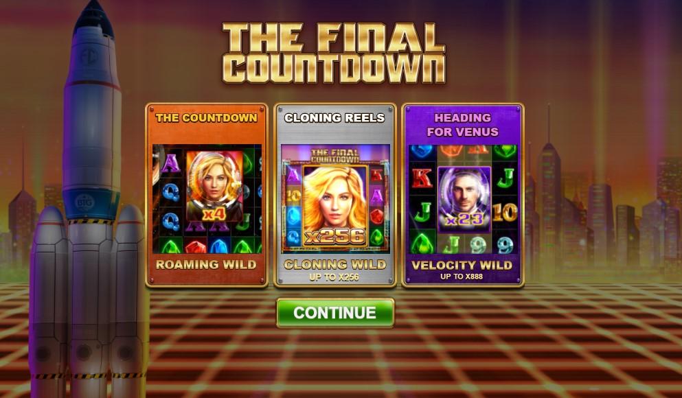 Игровой автомат The Final Countdown