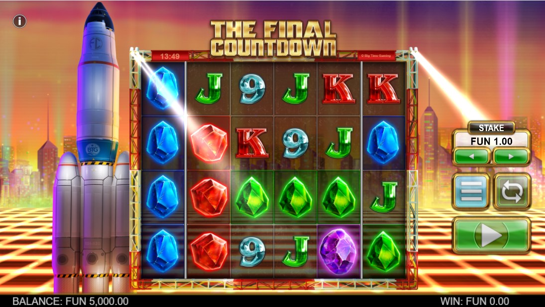 Слот The Final Countdown играть