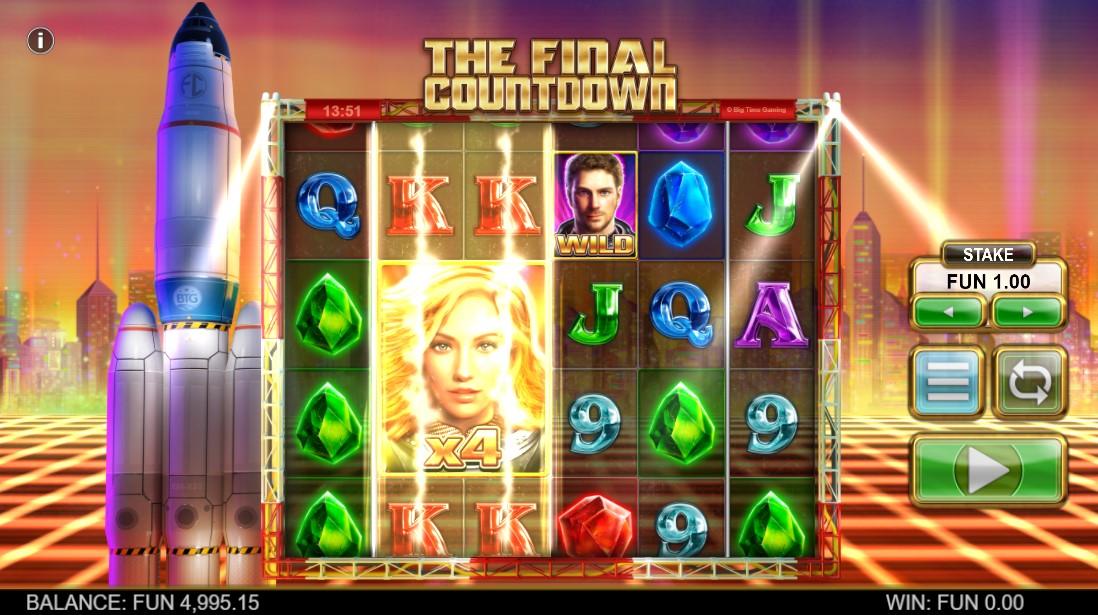 Бесплатный слот The Final Countdown