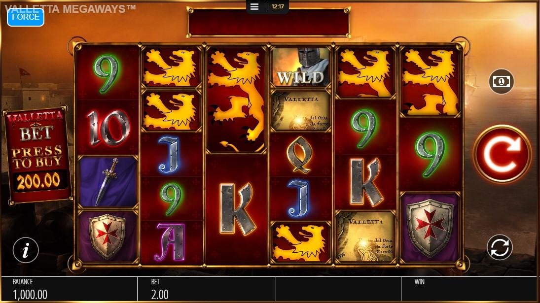 Бесплатный игровой автомат Valletta
