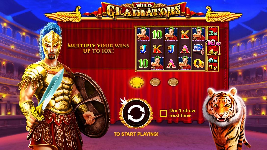 Играть в слот Wild Gladiators