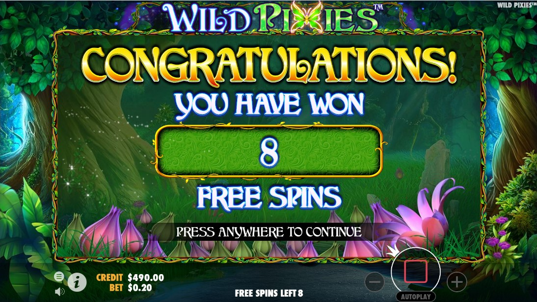 Играть онлайн Wild Pixies
