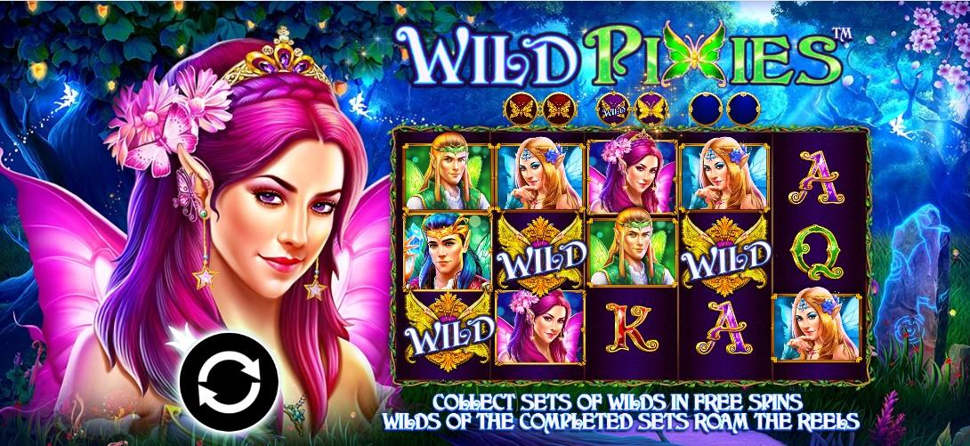 Wild Pixies игровой автомат