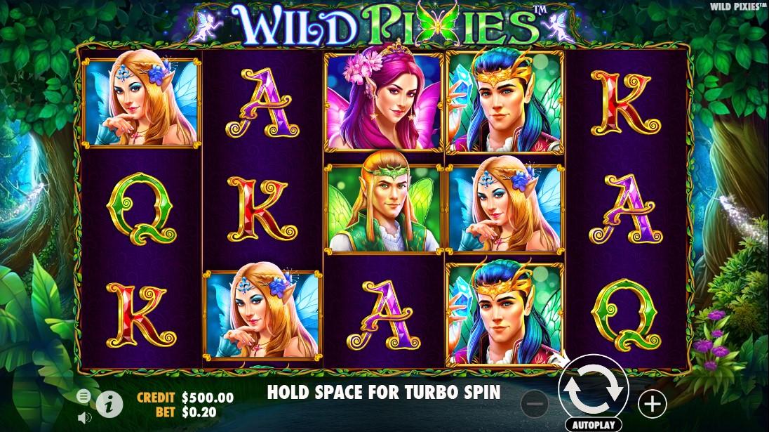 Wild Pixies онлайн игровой автомат