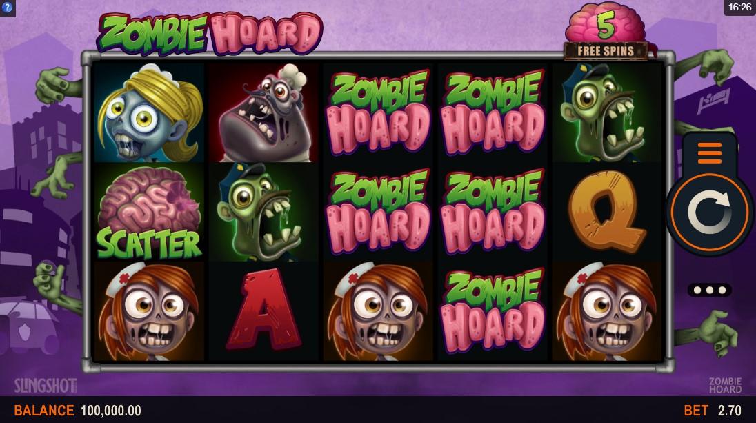 Игровой автомат Zombie Hoard