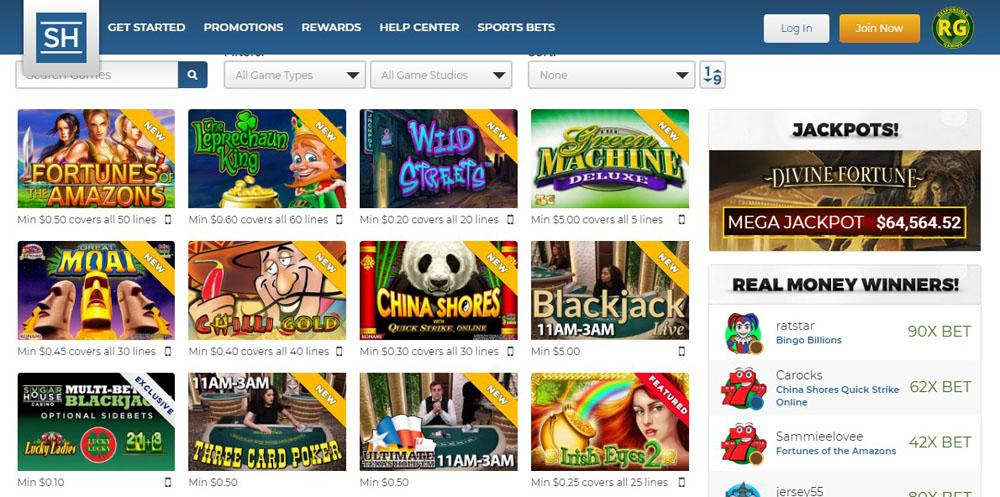 онлайн казино сша