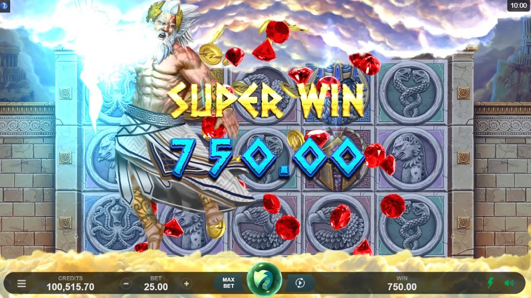 Игровой автомат Ancient Fortunes Zeus