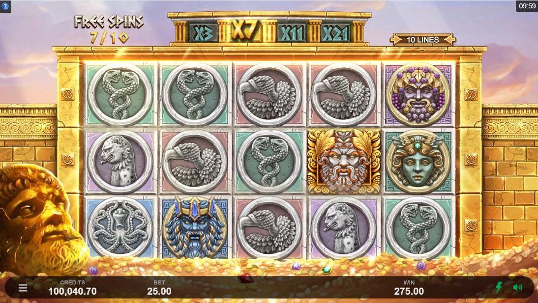 Слот Ancient Fortunes Zeus играть