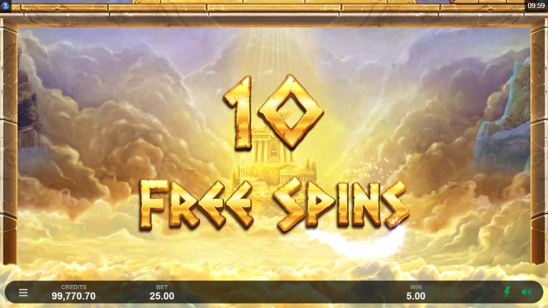 Бесплатный слот Ancient Fortunes Zeus