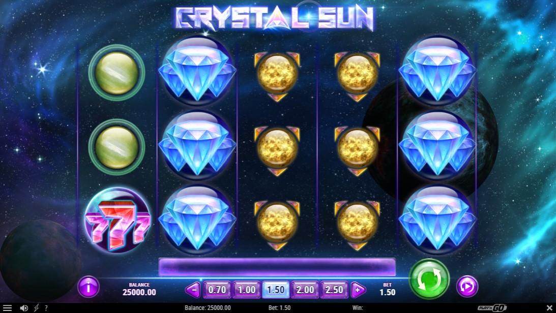 Crystal Sun слот играть