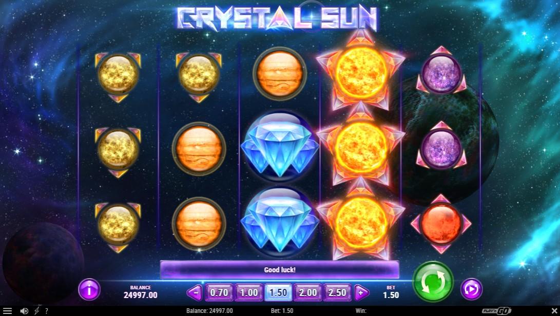 Бесплатный игровой автомат Crystal Sun