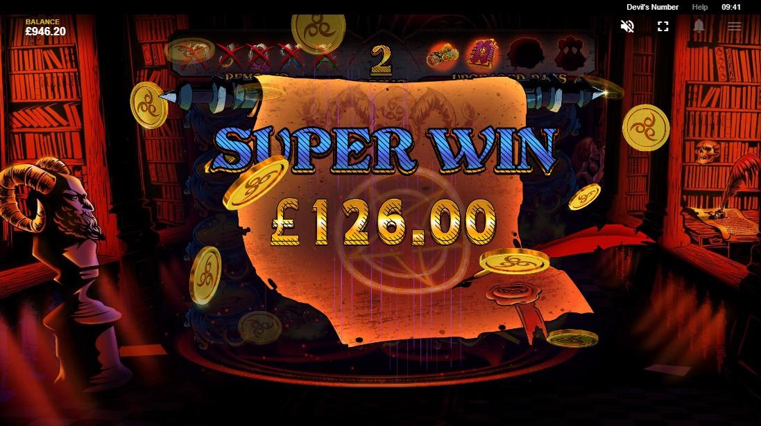 Игровой автомат Devil's Number