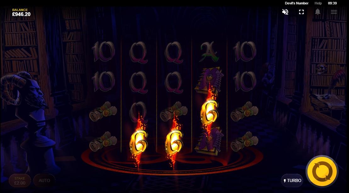 Онлайн игровой автомат Devil's Number