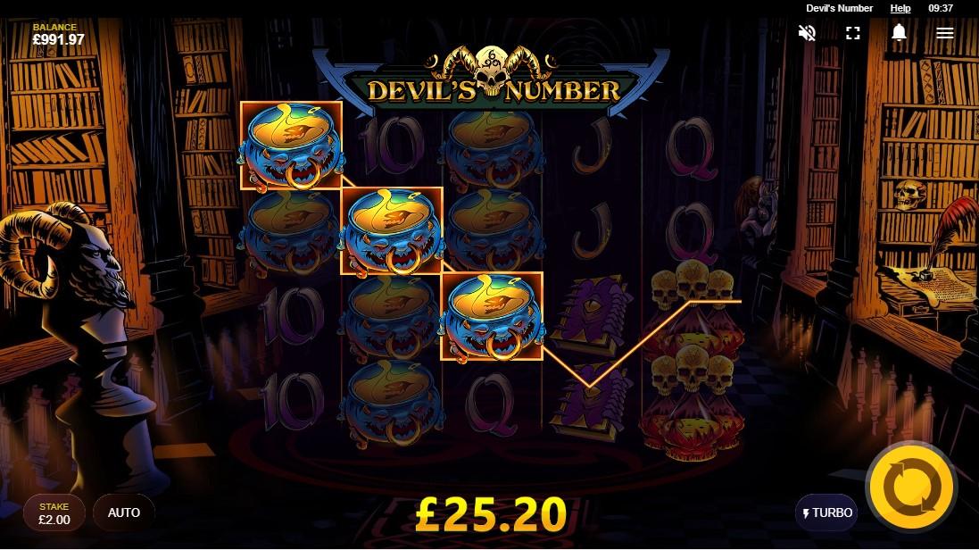 Онлайн слот Devil's Number играть бесплатно