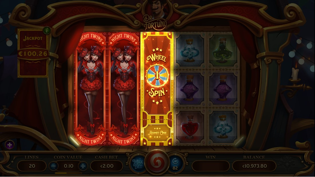 Бесплатный игровой автомат Dr Fortuno
