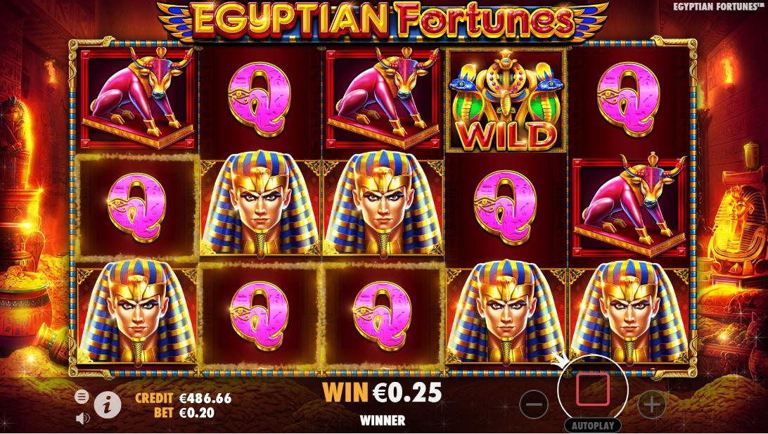 Egyptian Fortunes игровой автомат