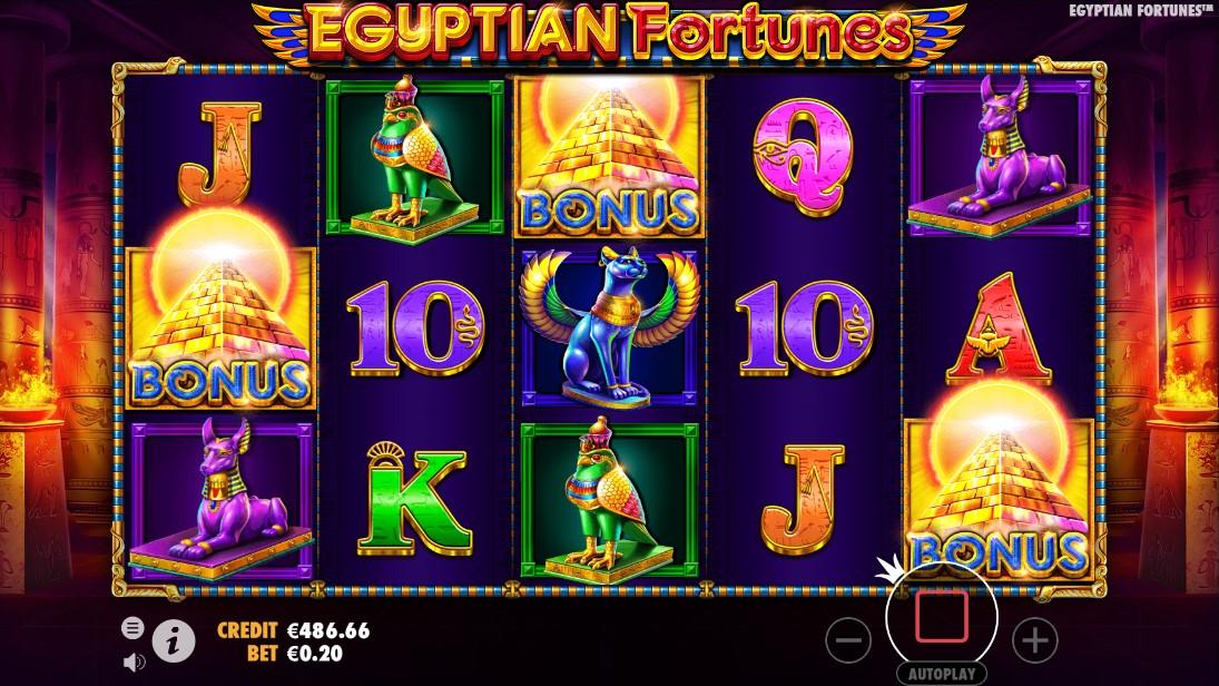Egyptian Fortunes онлайн слот