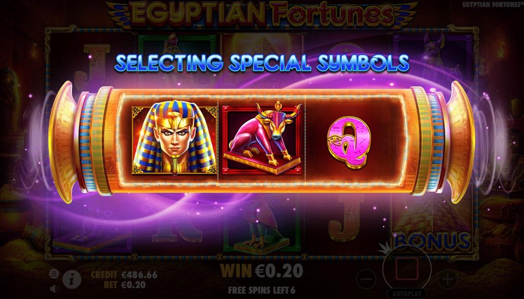 Слот Egyptian Fortunes играть