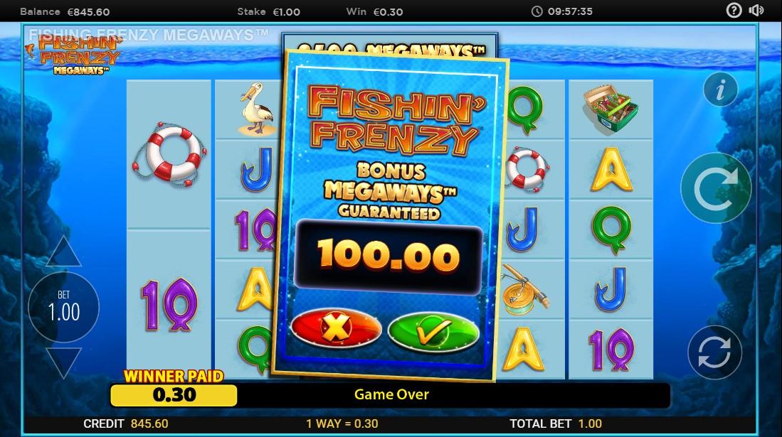 Слот Fishin' Frenzy Megaways играть бесплатно