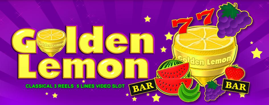 Игровой автомат Golden Lemon