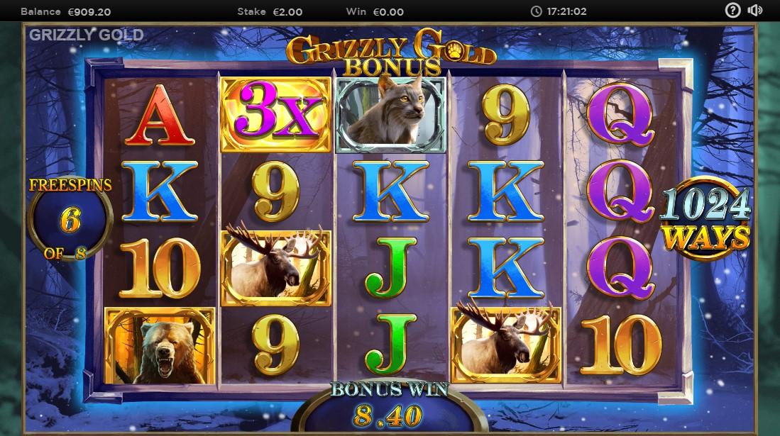 Игровой автомат Grizzly Gold