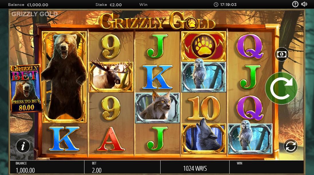 Бесплатный слот Grizzly Gold