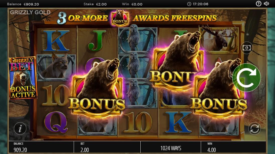 Слот Grizzly Gold играть
