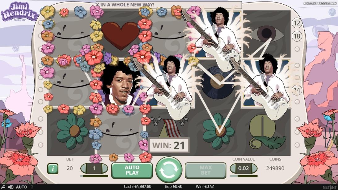 Играть Jimi Hendrix бесплатно онлайн