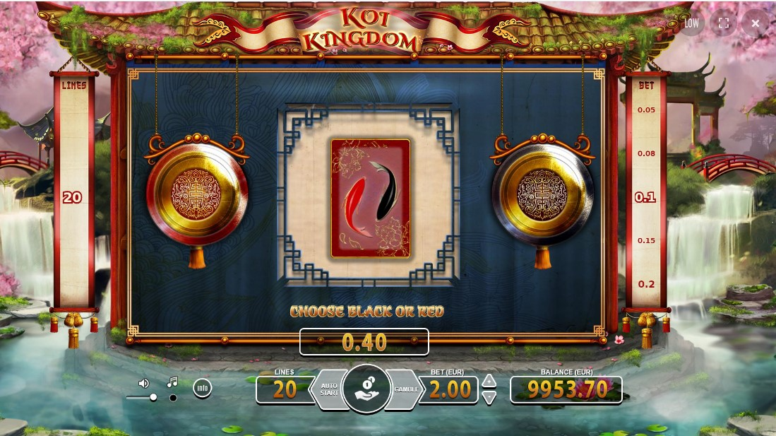 Слот Koi Kingdom играть